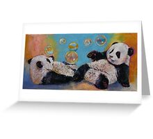 Bubbles Greeting Card