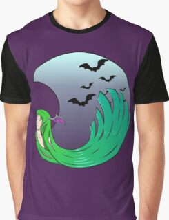 Moonlight Morrigan Graphic T-Shirt