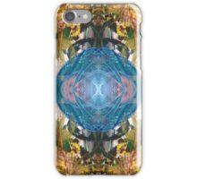 Mirror Art Blue Sphere iPhone Case/Skin