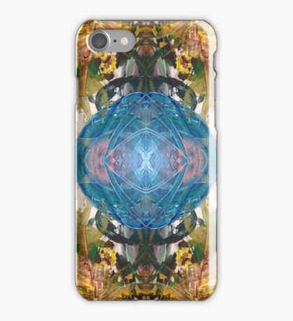 Mirror Art Blue Sphere iPhone Case/Skin