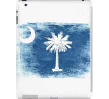 South Carolina State Flag Distressed Vintage Shirt iPad Case/Skin