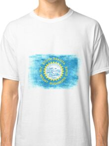 South Daktota State Flag Distressed Vintage Shirt Classic T-Shirt