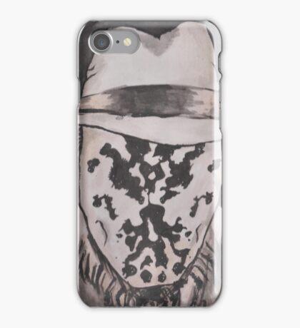 Watchmen - Rorshach Ink Portrait iPhone Case/Skin