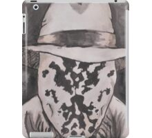Watchmen - Rorshach Ink Portrait iPad Case/Skin
