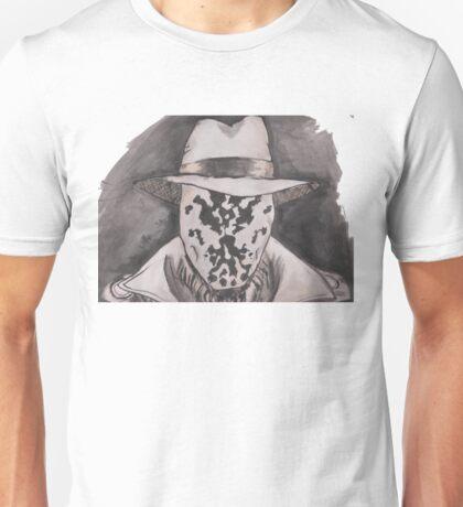 Watchmen - Rorshach Ink Portrait Unisex T-Shirt