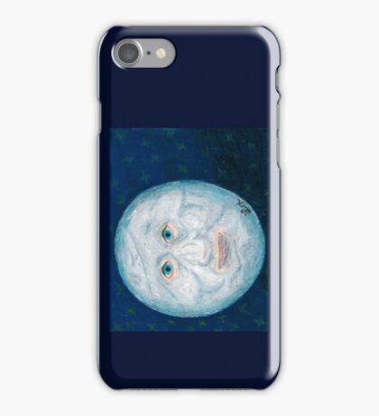 The Alabaster Simpleton (The Moon) iPhone Case/Skin