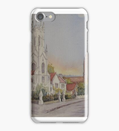 Chalmers Church Launceston by Muriel Sluce iPhone Case/Skin