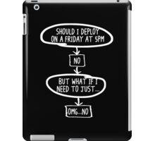 Should I Deploy? iPad Case/Skin