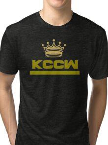 "KCCW ""Crown"" Tri-blend T-Shirt"