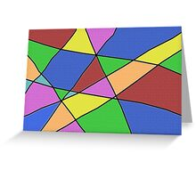 Abstract Funk Greeting Card