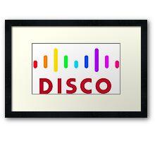Disco (Cisco Parody) Framed Print