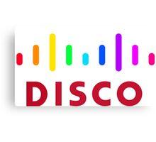 Disco (Cisco Parody) Canvas Print