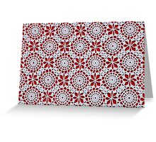Portuguese Crochet Pattern - Cases, Pillows and More Greeting Card