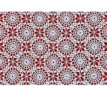 Portuguese Crochet Pattern - Cases, Pillows and More Photographic Print