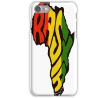 RASTA NATION iPhone Case/Skin