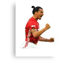 Zlatan Ibrahimovic Manchester United (T-Shirt, Phone Case & More ) Canvas Print