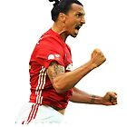Zlatan Ibrahimovic Manchester United (T-Shirt, Phone Case & More ) by RighteousHD