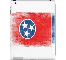 Tennessee State Flag Distressed Vintage Shirt iPad Case/Skin