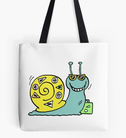 Cool Snails - the male snail Tote Bag