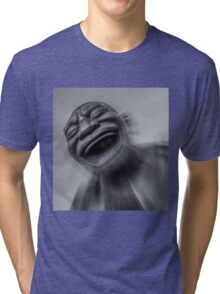 A-maze-ing Laughter 9 Black and White Tri-blend T-Shirt