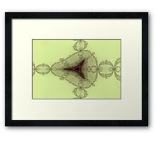 False Tricorn Byways No. 11 Framed Print