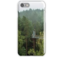Walkway above the forest iPhone Case/Skin