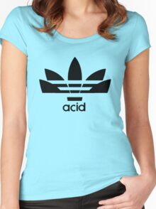 acid Women's Fitted Scoop T-Shirt
