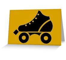 roller-skate Greeting Card