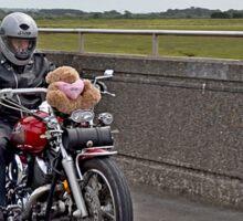 Bikers on a Teddy Bear's Picnic Sticker