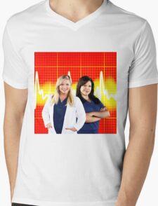 Calzona (Callie & Arizona - Greys anatomy) Mens V-Neck T-Shirt