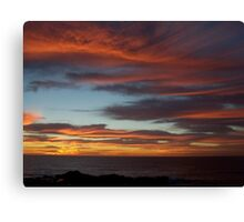 Sunrise By the Sea Canvas Print