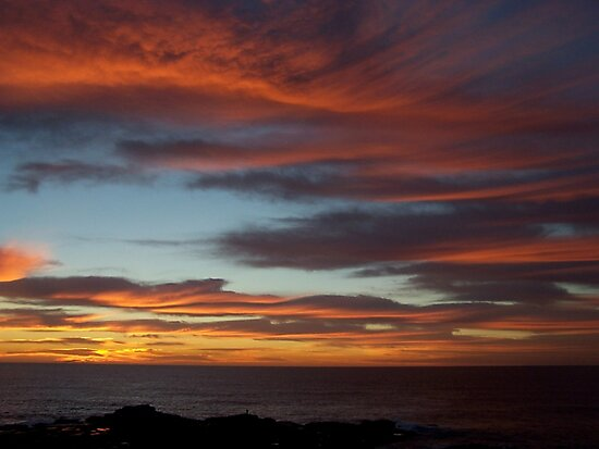 Sunrise By the Sea by Richard Keech