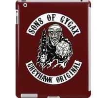Sons of Gygax - Greyhawk Original B/W iPad Case/Skin