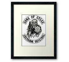 Sons of Gygax - Greyhawk Original B/W Framed Print