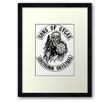 Sons of Gygax - Greyhawk Original B/W Framed Print