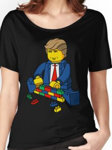 Donald Trump - Build A Wall Women's Relaxed Fit T-Shirt
