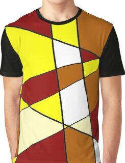 Abstract Warmth Graphic T-Shirt