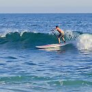 Laguna Beach California Paddle Boarding by K D Graves Photography