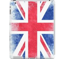 United Kingdom Flag Proud British Vintage Distressed Shirt iPad Case/Skin