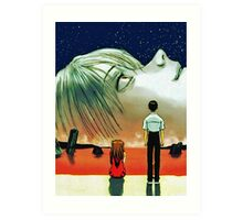 Neon Genesis Evangelion: The End of Evangelion Movie Poster  Art Print