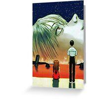 Neon Genesis Evangelion: The End of Evangelion Movie Poster  Greeting Card