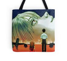 Neon Genesis Evangelion: The End of Evangelion Movie Poster  Tote Bag
