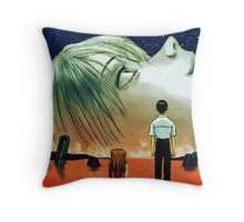 Neon Genesis Evangelion: The End of Evangelion Movie Poster  Throw Pillow