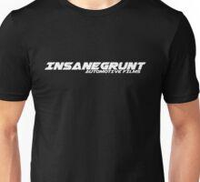 Insanegrunt Films ~ White logo Unisex T-Shirt