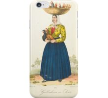Italian, 19th century GALLINHEIRA NO SORTO iPhone Case/Skin