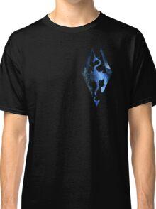 Skyrim Logo - Magic Classic T-Shirt