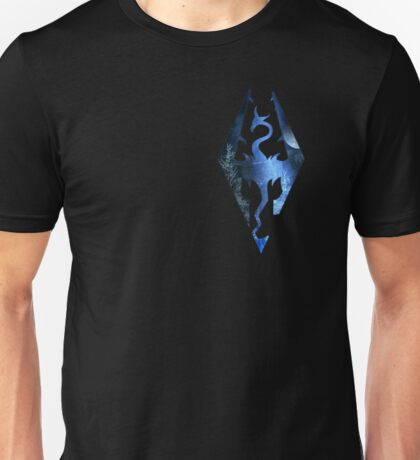 Skyrim Logo - Magic Unisex T-Shirt