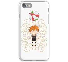Floating Hinata Shouyou iPhone Case/Skin