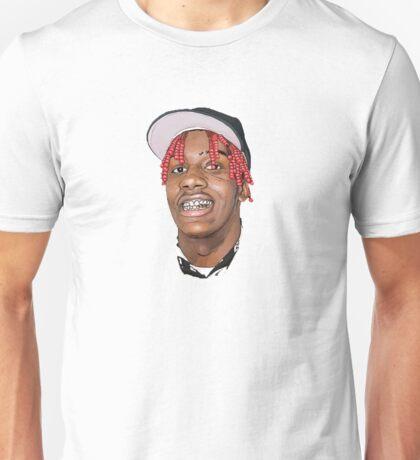 LIL YACHTY FACE Unisex T-Shirt