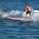 Paddle Boarding In Laguna Beach by K D Graves Photography